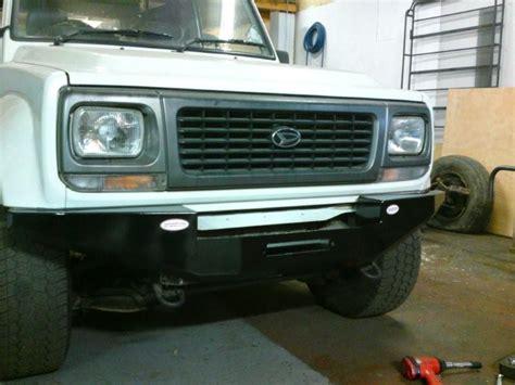 fourtrak independant winch bumper finally