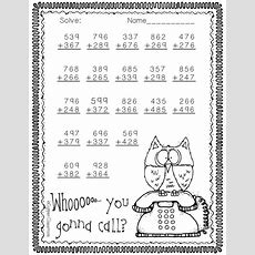 Free 3nbt2 Halloween Themed 3digit Addition With Regrouping  All The Latest, Greatest Tpt