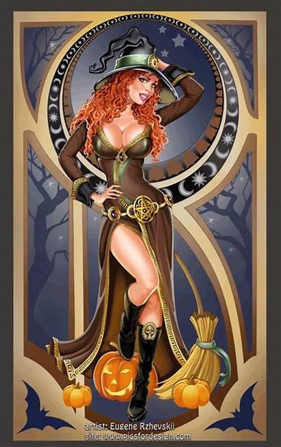 Witch Witches Halloween Picsfordesign Rzhevskii Happy Samhain