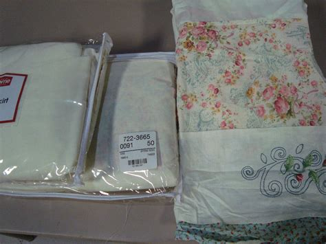 jcpenney home assorted king size bedskirts 15 quot drop new ebay
