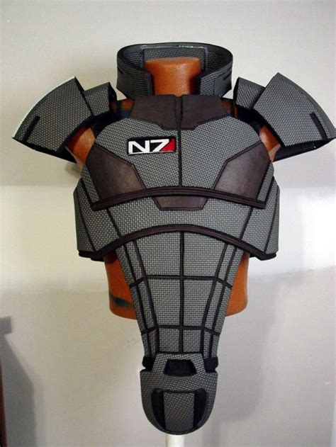 Mass Effect 3 N7 Armor Template by 11 Best Images About Sci Fi Larp On