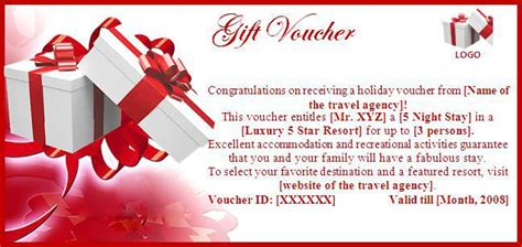 gift voucher template word excel formats