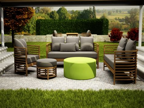 pictures of outdoor furniture half moon sectional outdoor