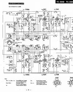 Sony Tc200 Tape Recorder Service Manual Download  Schematics  Eeprom  Repair Info For