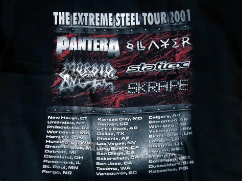 extreme steel  pantera slayer static   nassau