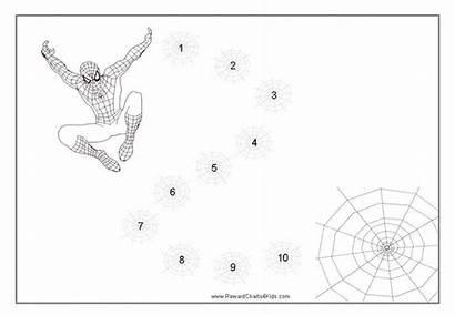 Reward Spiderman Charts Chart Behavior Printable Children