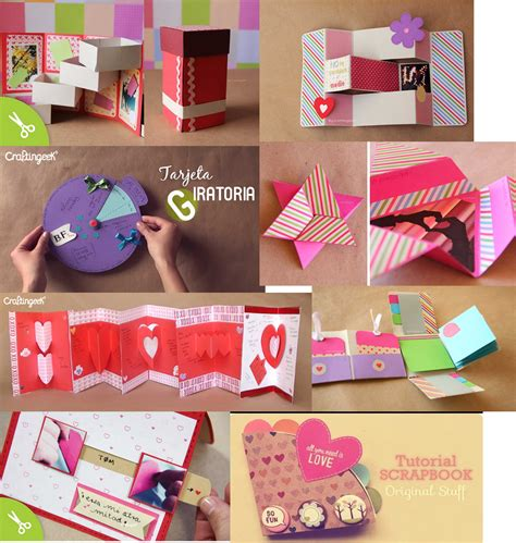 Craftingeek tarjetas de amor Imagui