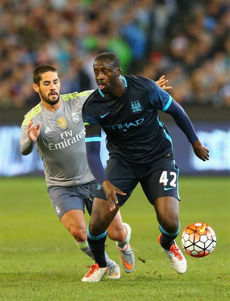 yaya toure  real madrid  manchester city zimbio