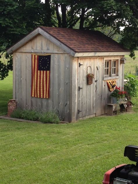 shed decorating images  pinterest gardening