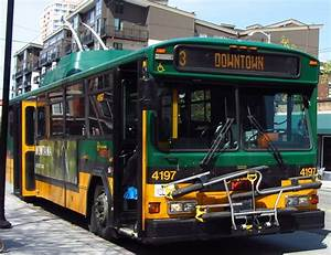 King County Metro 2001 Gillig Phantom Trolley 4197