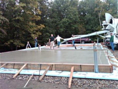 cost to pour a garage slab don t get charged here s my concrete slab cost in detail