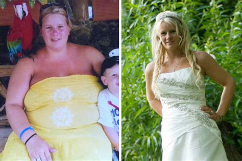 A Woman Shed Seven Dress Sizes After