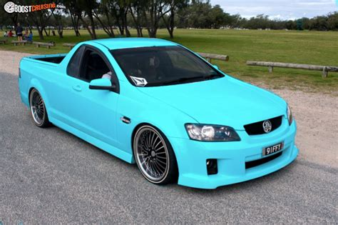 holden ute sv commodore ute boostcruising