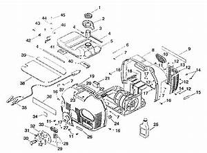 Enclosure Exploded View Diagram  U0026 Parts List For Model 580329100 Craftsman
