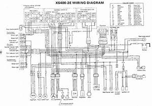 Wiring Diagram 2002 Yamaha Virago 250  Electrical  Auto