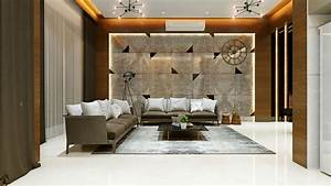 Classic, Ambiance, Of, Living, Room, Space, With, Two, Side, Sofa, Elements, Having, Cushions, And, Low, Height