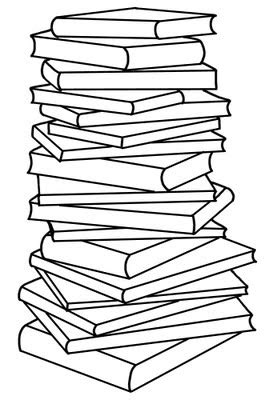 Free Stack Of Books Clipart Pictures - Clipartix