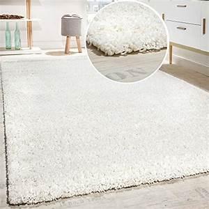 Tapis Blanc Poil Long : tapis poil long blanc d occasion ~ Teatrodelosmanantiales.com Idées de Décoration