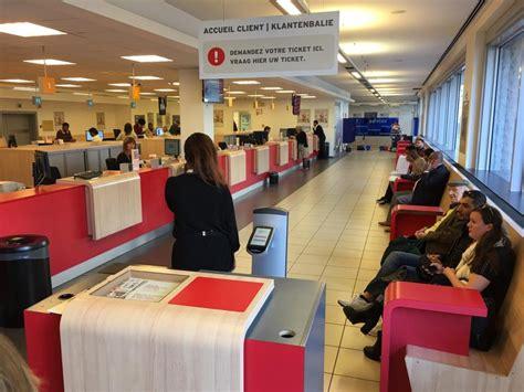 bruxelles visite de bureaux de poste de la poste belge bpost lionel tardy