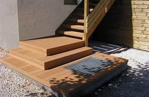 Escalier Terrasse Bois : terrasse bois terrasse en bois valence bois de terrasse ~ Nature-et-papiers.com Idées de Décoration