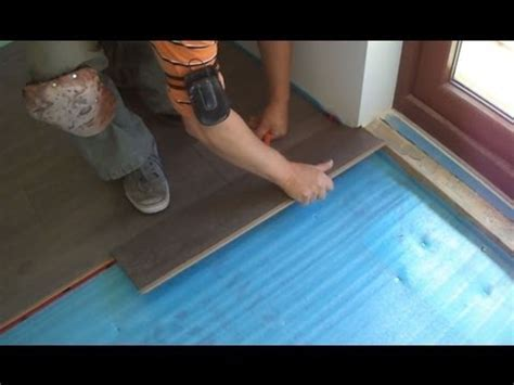 Installing Laminate Wood Flooring Close to the Patio Door