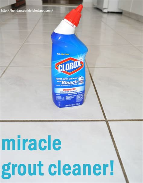 sparkle grout cleaner