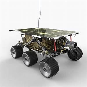 sojourner rover 3d model