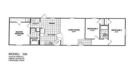fleetwood mobile home floor plan  home plans design