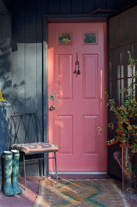 the pink door pink door shabby chic style entry