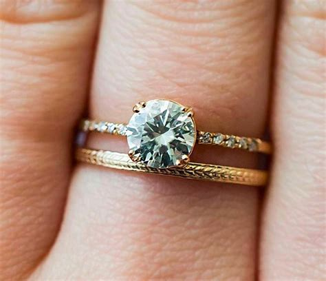10 unique wedding bands to inspire your wedding ring hellogiggles