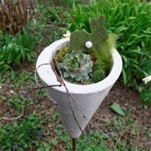 Basteln Für Den Garten : fr hlingsdeko aus beton f r den garten basteln und dekorieren ~ Whattoseeinmadrid.com Haus und Dekorationen
