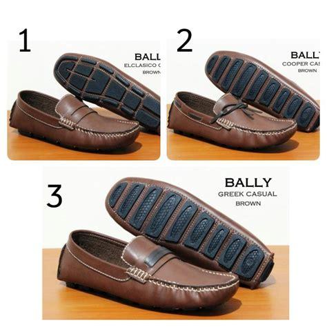 Sepatu Bally Mocasin Coklat jual beli sepatu loafer pria santai gaul sepatu
