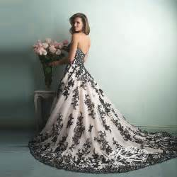 black dresses for weddings vestido de noiva sweetheart white and black wedding dress gown wedding gowns with black