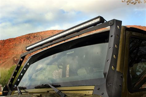 orfab or fab s new light bar for jeep jk wranglers