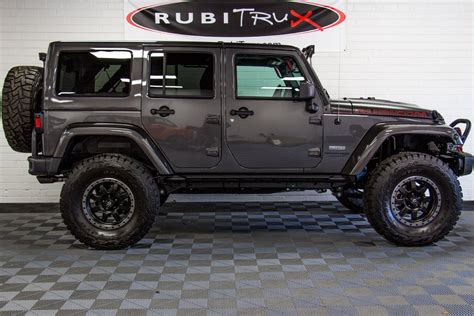 jeep wrangler custom 2018 jeep wrangler rubicon recon unlimited granite
