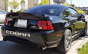 Black 2003 Ford Mustang Svt Cobra 10th Anniversary Coupe