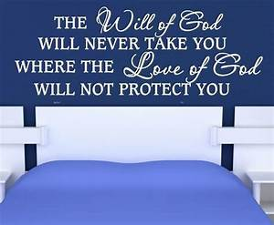 WILL OF GOD CHR... Large Vinyl Wall Quotes