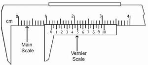 Why Is The Least Count Of Vernier Calliper 1 M S D - 1 L S D