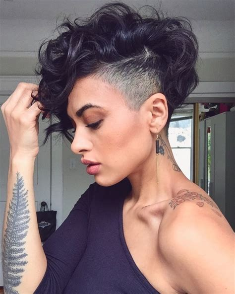 How To Cut Pixie Hairstyle by 28 Curly Pixie Cuts That Are For Fall 2017