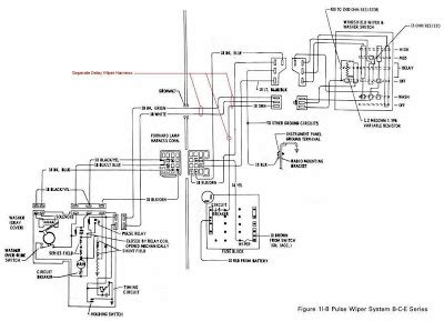 Buick Series Pulse Wiper System Wiring Diagram
