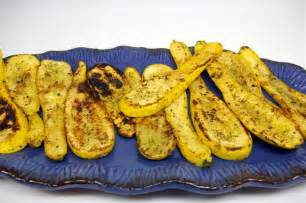 Grilled Yellow Summer Squash Recipes