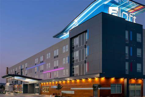 A Loft by Aloft Hotel Huff Construction