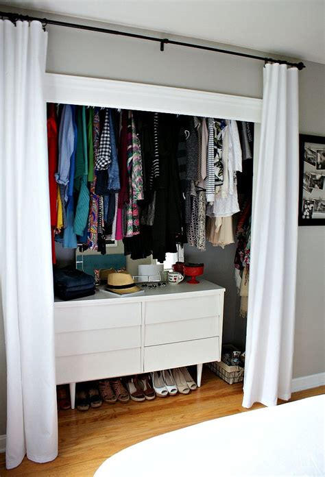 best 25 curtain closet ideas on curtains for