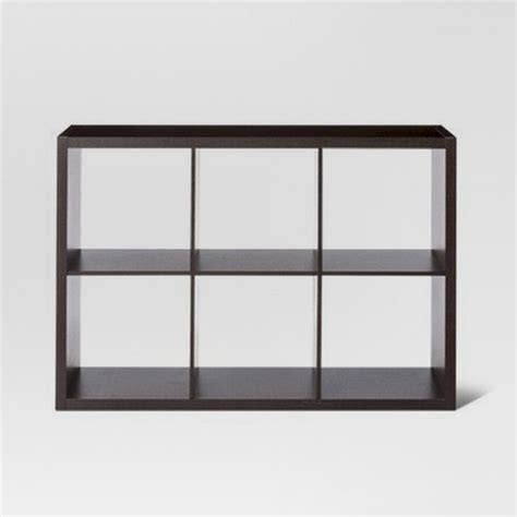 cube shelf organizer 6 cube organizer shelf 13 quot threshold target