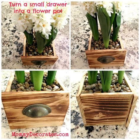 diy flower pot great mothers day gift