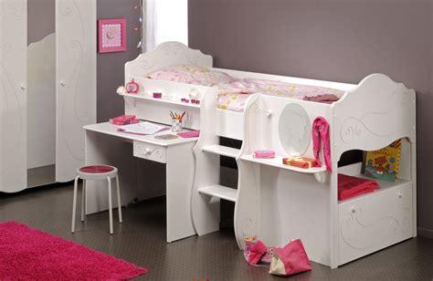 lit enfant combiné bureau bureau chambre fille