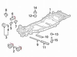 Chevrolet Tahoe Frame Crossmember  2wd  2wd  1  2 Ton  2wd