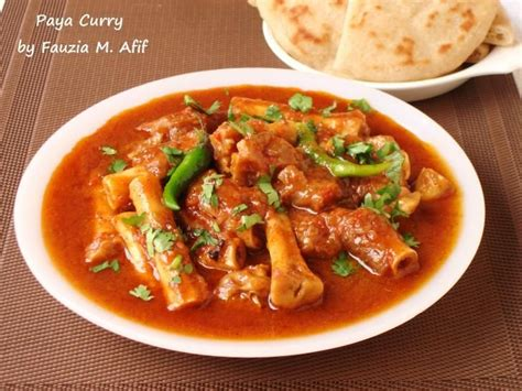 cuisine trotter paya is a traditional breakfast dish it is made
