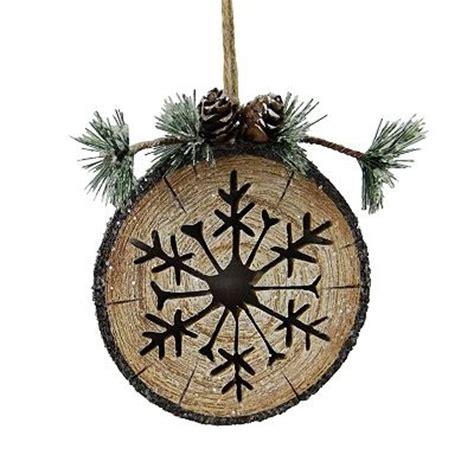 st nicholas square tree stump ornament christmas