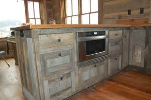 Distressed Bathroom Vanity Diy by Recycled Barnwood Cabinets Kitchen Pinterest Modern